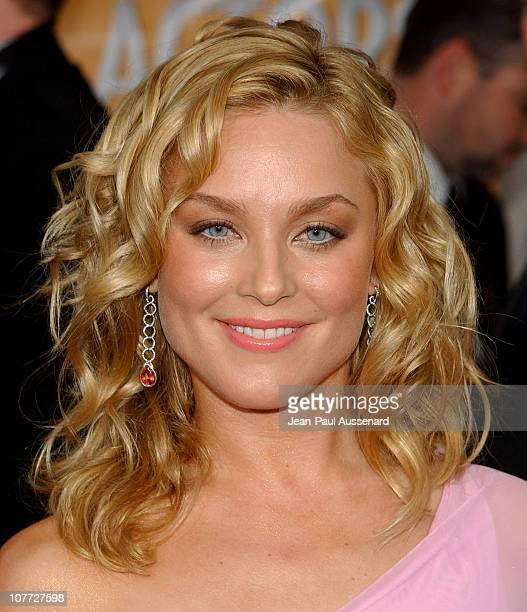 Elisabeth Rohm wearing Erica Courtney earrings during 10th Annual Screen Actors Guild Awards - Arrivals at Shrine Auditorium in Los Angeles,...