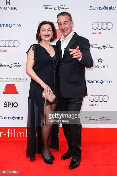 Elisabeth Romano and Heio von Stetten attend the German Film Ball 2015 on January 17 2015 in Munich Germany