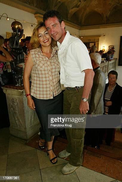 Elisabeth Romano Und Ehemann Schauspieler Heio Von Stetten Und Beim Bavaria Filmempfang Im Künstlerhaus Beim Münchener Filmfest