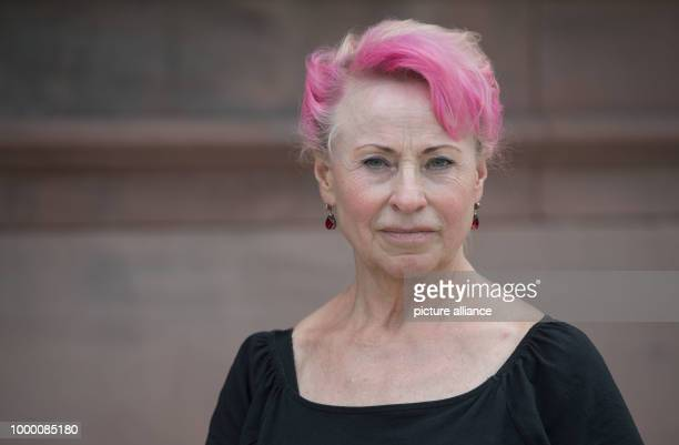 Elisabeth Schmitt who pushed a damages claim against the TUVRheinland concerning substandard breast implants made of industrial silicon standing in...