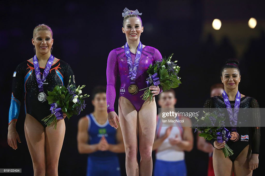 Mens & Womens Artistic - Glasgow FIG Artistic World Cup 2016 : News Photo