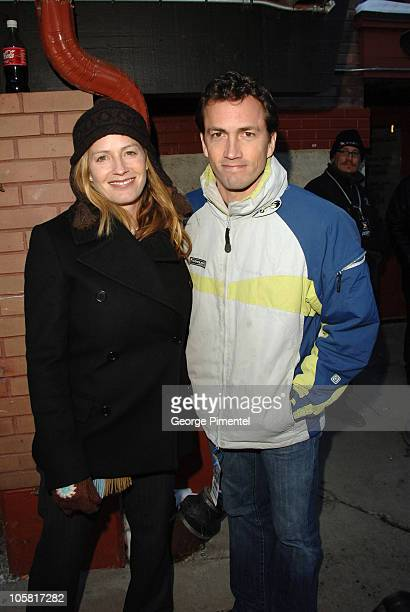 Elisabeth Shue and Andrew Shue during 2006 Park City Seen Around Town Day 5 in Park City Utah United States