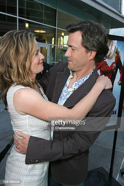 Elisabeth Shue and Andrew Shue during Picturehouse Gracie Los Angeles Premiere at Arclight Cinemas in Hollywood California United States