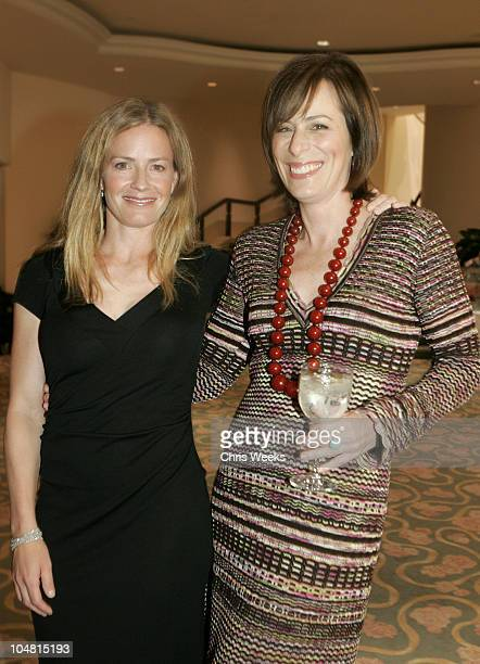 Elisabeth Shue and Jane Kaczmarek during The Children's Defense Fund's 15th Annual Beat the Odds Awards Inside at Beverly Hills Hotel in Beverly...
