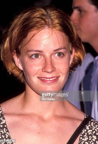 Elisabeth Shue at the Premiere of 'The Water Engine', Joseph Papp Public Theater, New York City.