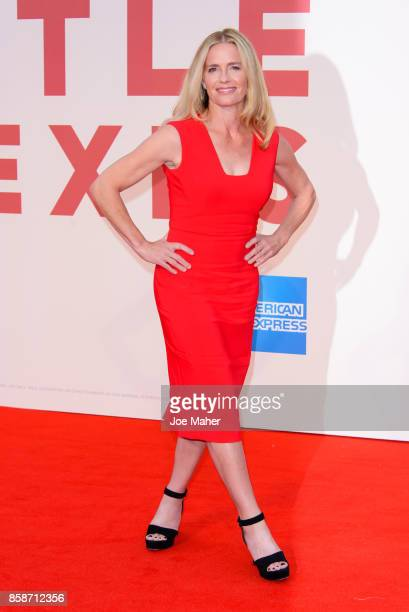 Elisabeth Shue attends the Battle Of The Sexes European Premiere during the 61st BFI London Film Festival at Odeon Leicester Square on October 7 2017...