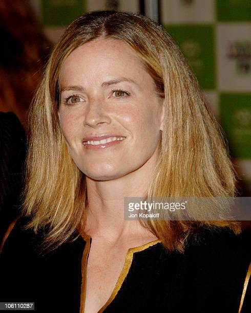Elisabeth Shue during 16th Annual Environmental Media Awards Arrivals at Wilshire Ebell Theatre in Los Angeles California United States