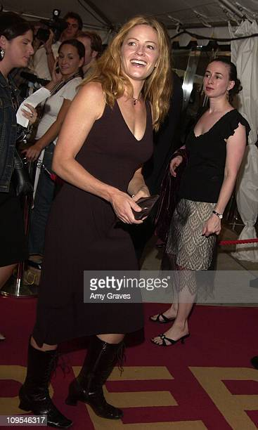 Elisabeth Shue during 2002 Toronto Film Festival 'Phone Booth' Premiere at Roy Thompson Hall in Toronto Ontario Canada