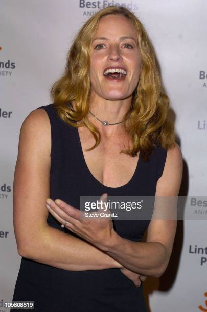 Elisabeth Shue during 2004 Annual Lint Roller Party at Hollywood Athletic Club in Hollywood California United States