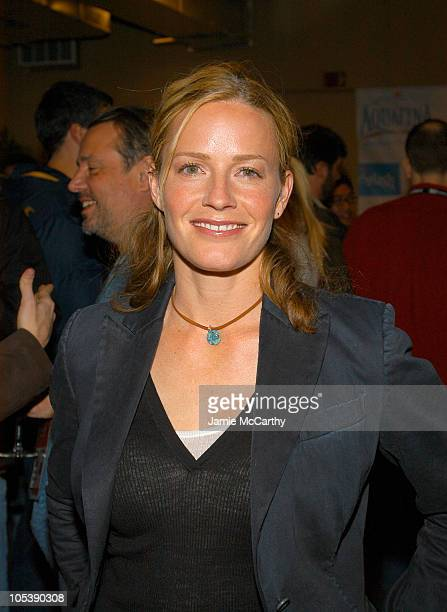 Elisabeth Shue during 2005 Sundance Film Festival Mysterious Skin Cocktail Party at Aquafina Lounge in Park City Utah United States