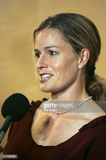 Elisabeth Shue during 2007 SBIFF Attenborough Award Presented to Al Gore at Arlington Theater in Santa Barbara CA United States