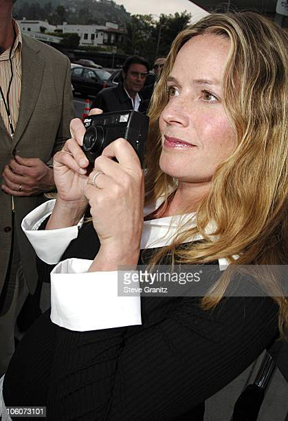 Elisabeth Shue during An Inconvenient Truth Los Angeles Premiere Arrivals at Directors Guild in West Hollywood California United States