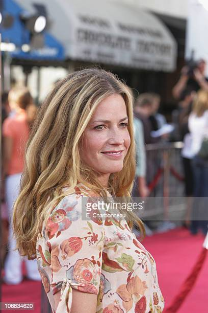 Elisabeth Shue during DreamWorks Pictures' Dreamer Inspired by a True Story Los Angeles Premiere Red Carpet at Mann Village Theatre in Westwood...