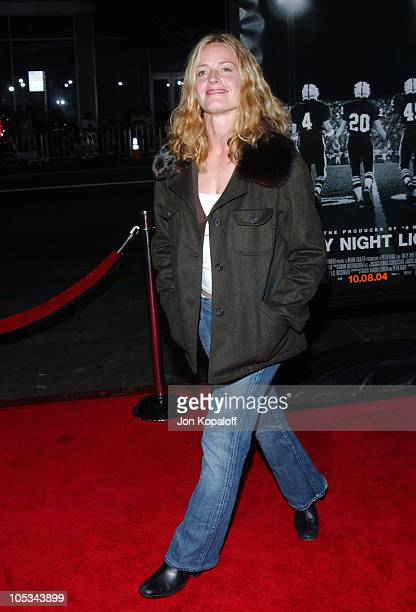 """Elisabeth Shue during """"Friday Night Lights"""" - World Premiere at Grauman's Chinese Theatre in Hollywood, California, United States."""
