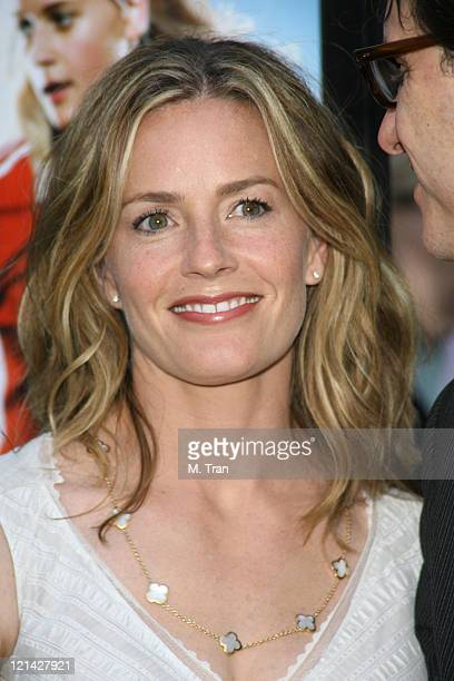 Elisabeth Shue during Gracie Los Angeles Premiere Arrivals at The ArcLight in Hollywood California United States