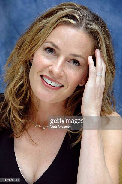 Elisabeth Shue during Gracie Press Conference with Carly Schroeder Dermot Mulroney Elisabeth Shue Andrew Shue and Davis Guggenheim at Four Seasons...