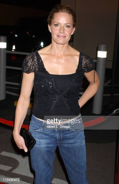 Elisabeth Shue during Hide and Seek Los Angeles Premiere Arrivals at Fox Studios/Zanuck Theater in Los Angeles CA United States