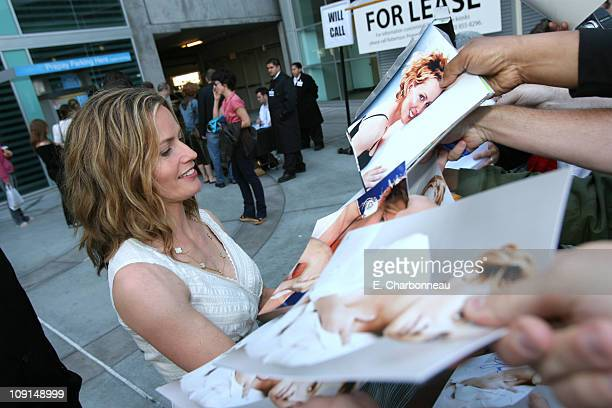 Elisabeth Shue during Picturehouse Gracie Los Angeles Premiere at Arclight Cinemas in Hollywood California United States