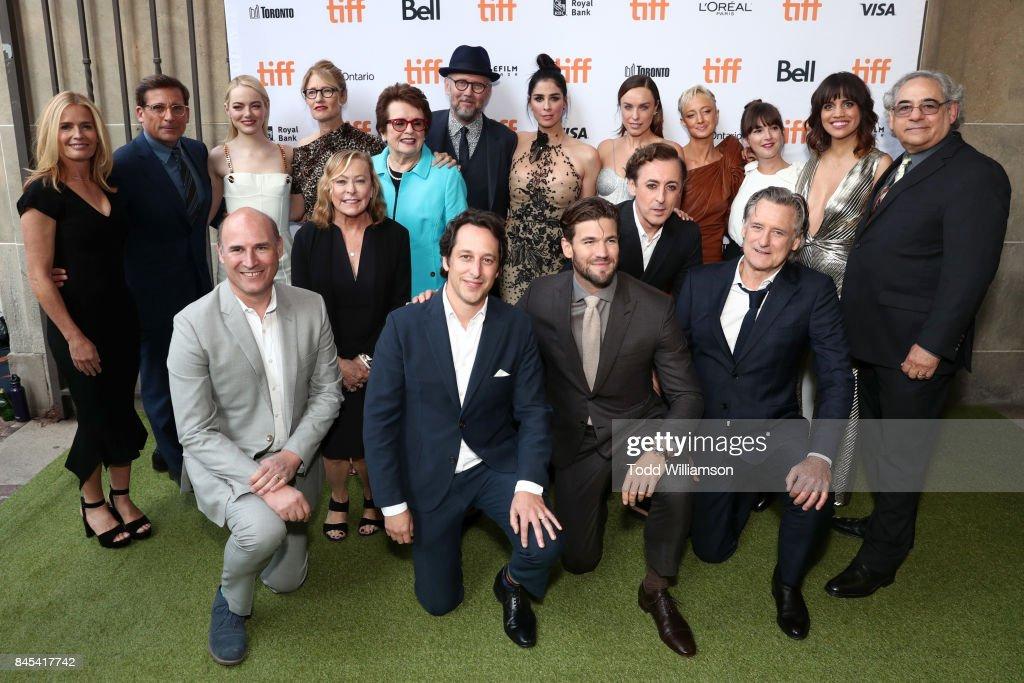 """Battle Of The Sexes"" - TIFF Screening : News Photo"