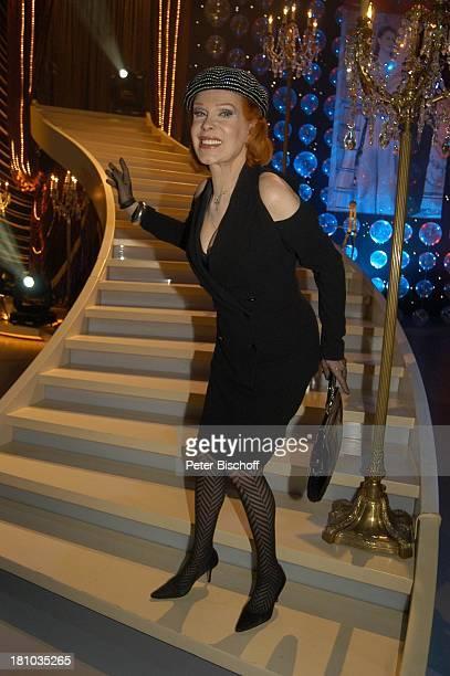 Elisabeth Volkmann Aufzeichnung ARDShow J o h a n n e s H e e s t e r s Eine Legende wird 100 München Bavaria Filmstudios Schauspielerin Geburtstag...