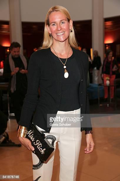 Elisabeth von Auersperg Breunner born Flick during the presentation of the book 'Zu Gast in Griechenland Rezepte Kueche Kultur' at 'The Charles'...