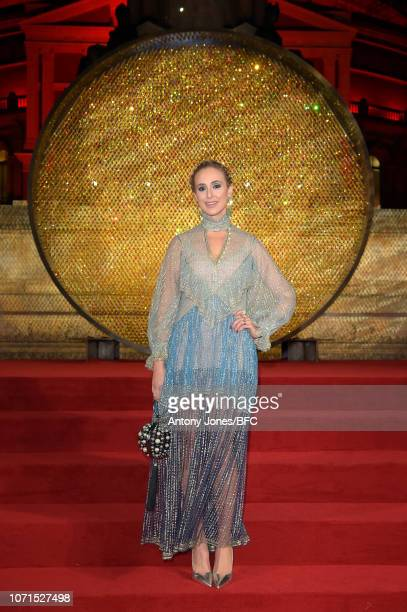 Elisabeth von Thurn und Taxis arrives at The Fashion Awards 2018 In Partnership With Swarovski at Royal Albert Hall on December 10 2018 in London...