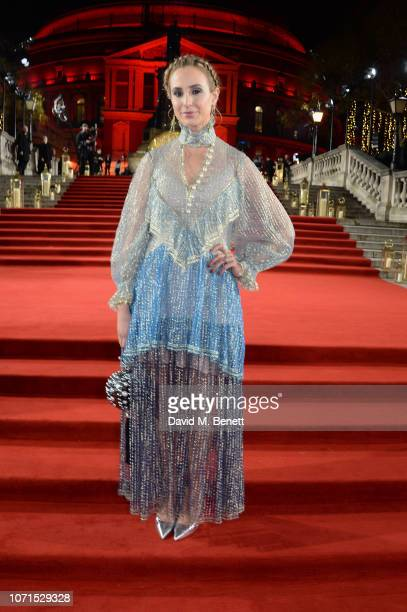 Elisabeth von Thurn und Taxis arrives at The Fashion Awards 2018 in partnership with Swarovski at the Royal Albert Hall on December 10 2018 in London...