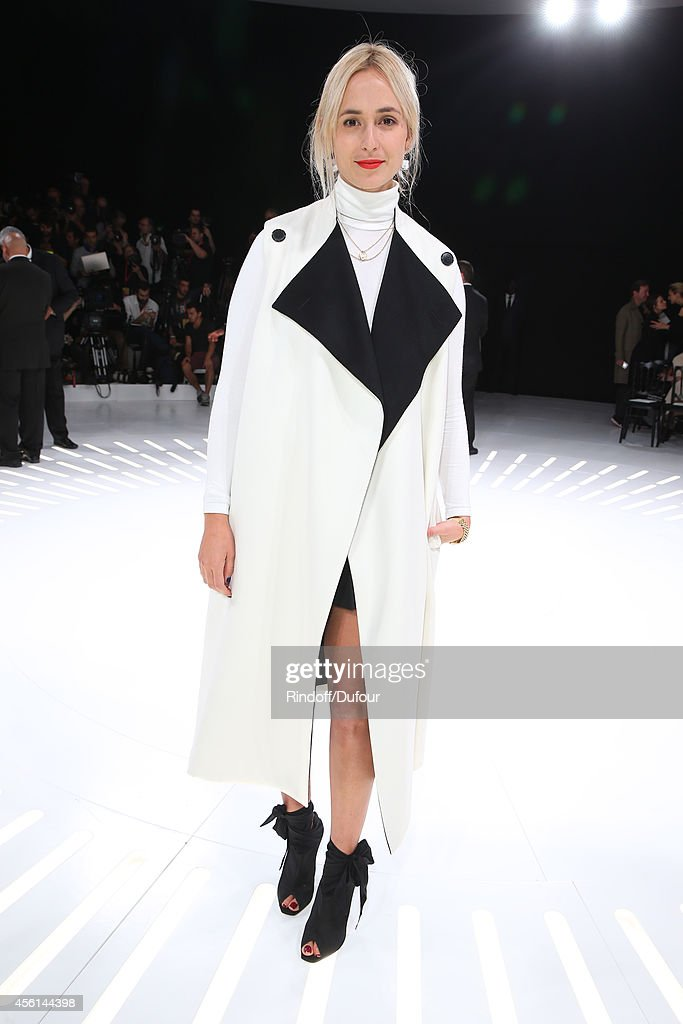 Elisabeth von Thurn und Taxis attends the Christian Dior show as part of the Paris Fashion Week Womenswear Spring/Summer 2015 on September 26, 2014 in Paris, France.