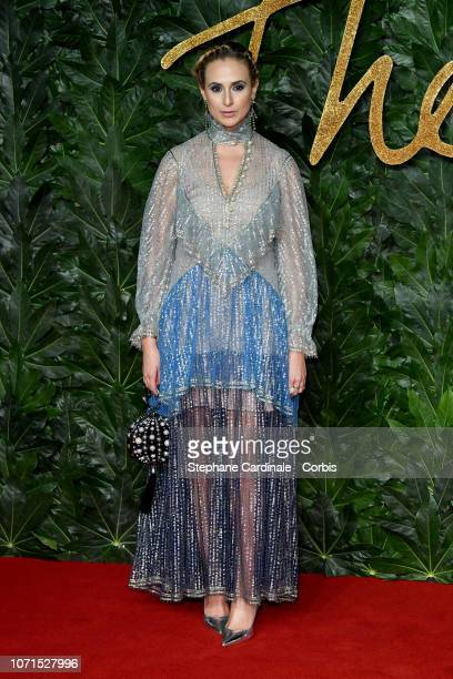 Elisabeth von Thurn und Taxis attends the Fashion Awards 2018 in partnership with Swarovski at Royal Albert Hall on December 10 2018 in London England