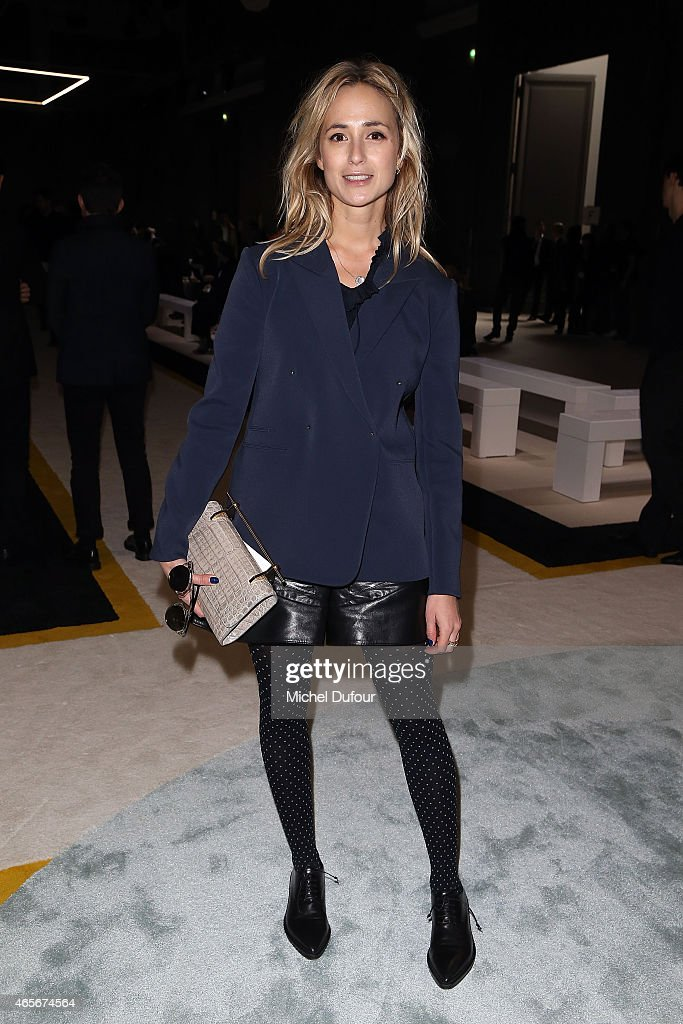Elisabeth von Thurn und Taxis Attends the Giambattista Valli show as part of the Paris Fashion Week Womenswear Fall/Winter 2015/2016 on March 9, 2015 in Paris, France.