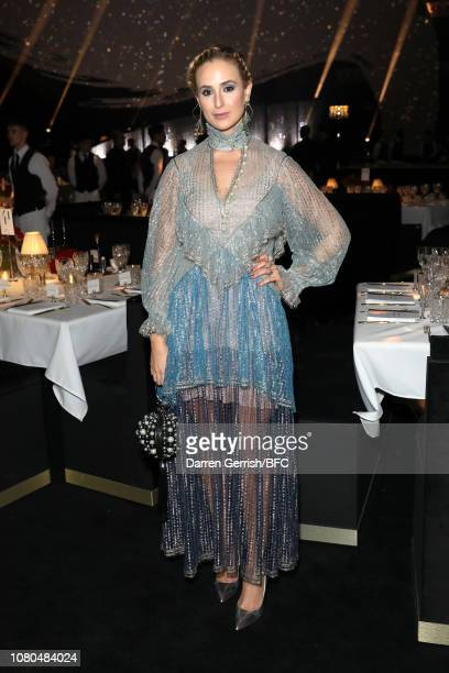 Elisabeth von Thurn und Taxis during preceremony drinks at The Fashion Awards 2018 In Partnership With Swarovski at Royal Albert Hall on December 10...