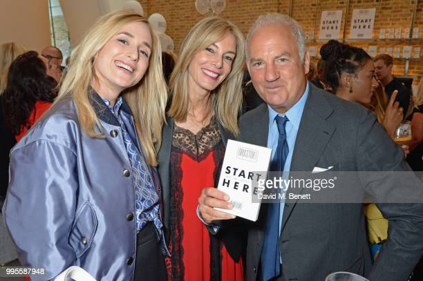 Elisabeth von Thurn und Taxis Kim Hersov and Charles Finch attend the launch party for the inaugural Issue of Drugstore Culture at Chucs Serpentine...