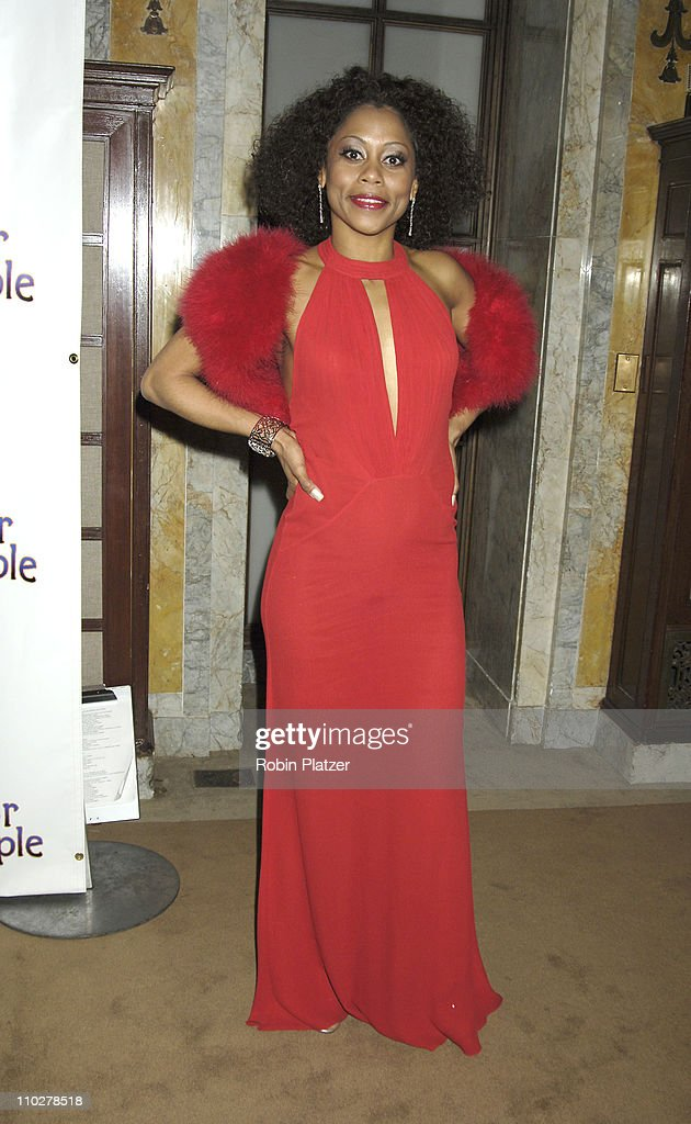 Elisabeth Withers-Mendes during 'The Color Purple' Broadway Opening Night - After Party at The New York Public Library in New York City, New York, United States.