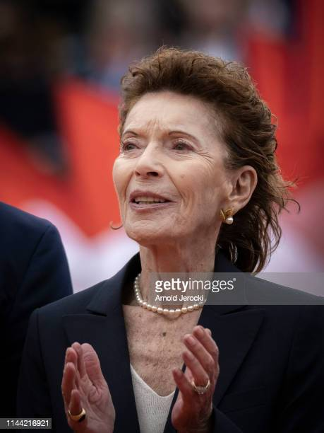 ElisabethAnne de Massy attends the Rolex MonteCarlo Masters at MonteCarlo Country Club on April 21 2019 in MonteCarlo Monaco