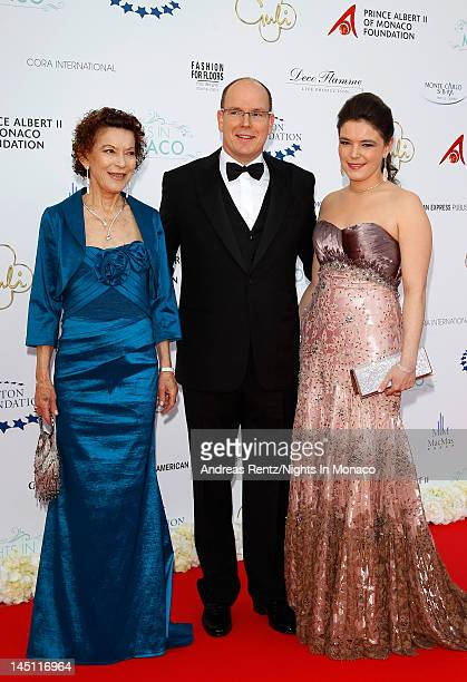 ElisabethAnne de Massy Prince Albert II of Monaco and Melanie Antoinette de Massy attend the Nights In Monaco Gala Fundraiser equally benefiting The...
