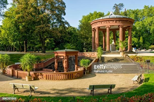 elisabethenbrunnen, spa garden, bad homburg vor der hoehe, hesse, germany - bad homburg stock pictures, royalty-free photos & images
