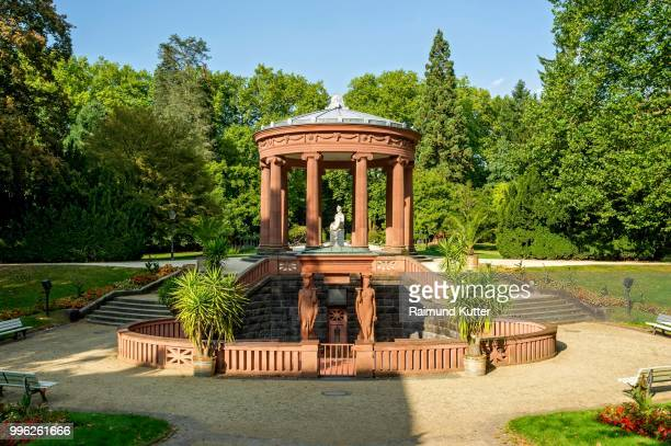 elisabethenbrunnen, spa gardens bad homburg vor der hoehe, hesse, germany - bad homburg stock pictures, royalty-free photos & images