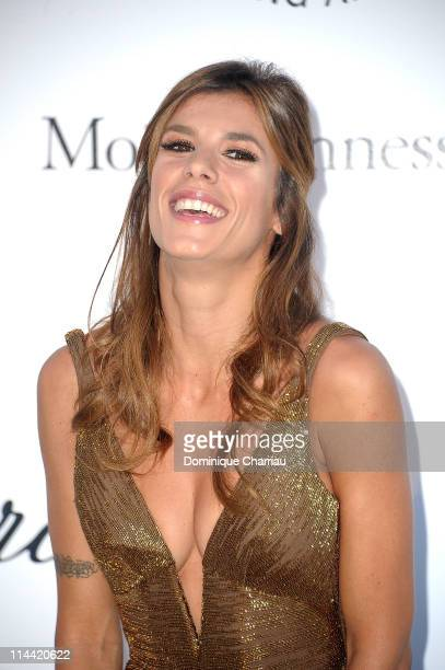 Elisabetta Canalis attends amfAR's Cinema Against AIDS Gala during the 64th Annual Cannes Film Festival at Hotel Du Cap on May 19 2011 in Antibes...