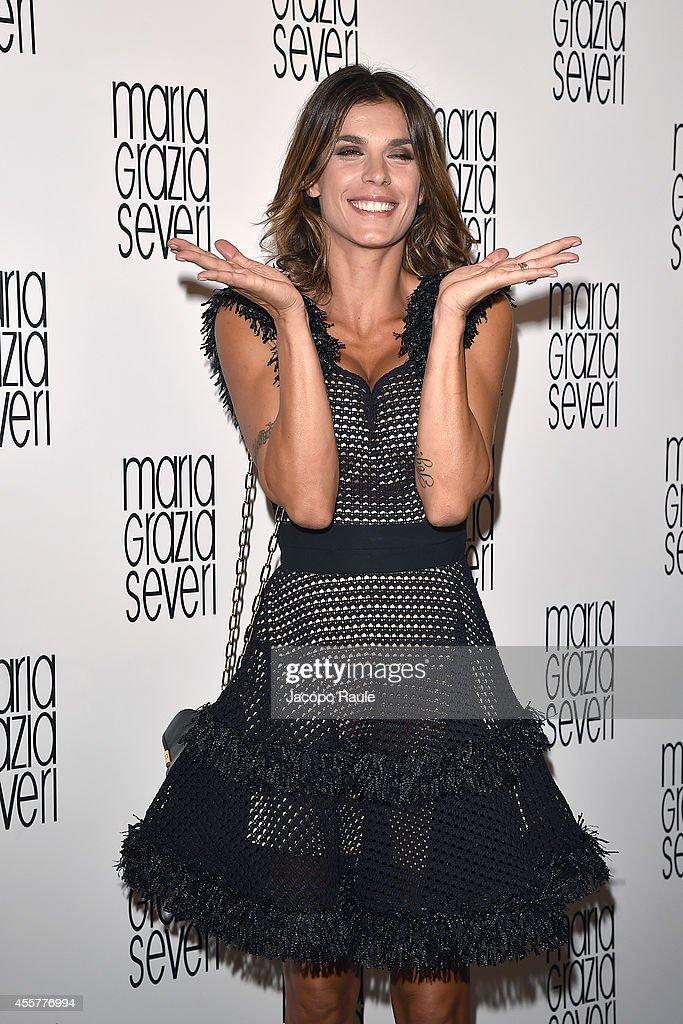 Maria Grazia Severi And Eleonora Carisi Spring/Summer 2015 Special Project - Milan Fashion Week Womenswear Spring/Summer 2015 : ニュース写真