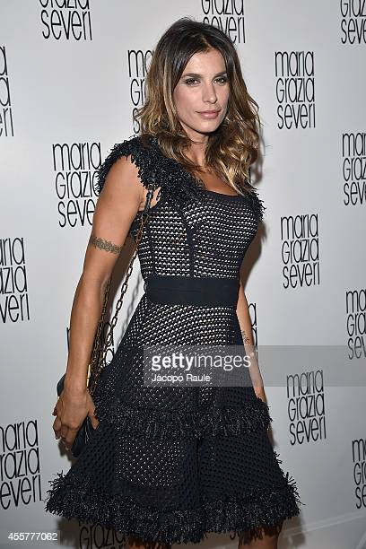 Elisabetta Canalis attends Maria Grazia Severi And Eleonora Carisi Spring/Summer 2015 Special Project during Milan Fashion Week Womenswear...