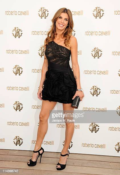 Elisabetta Canalis attends the Cavalli Boutique Opening during the 64th Annual Cannes Film Festival on May 18 2011 in Cannes France