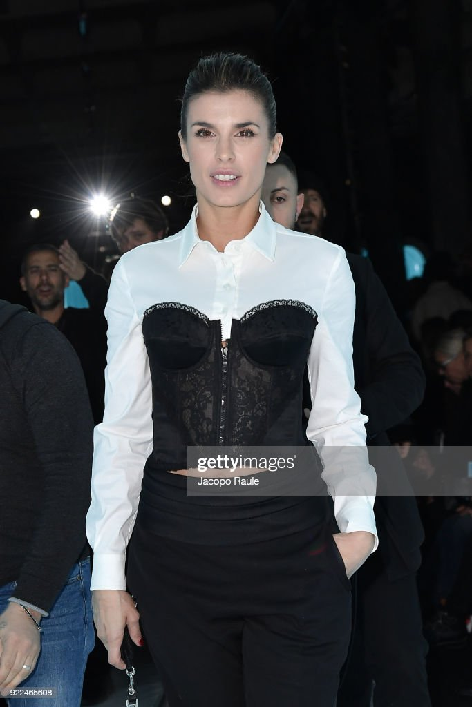 Moschino - Front Row - Milan Fashion Week Fall/Winter 2018/19 : News Photo