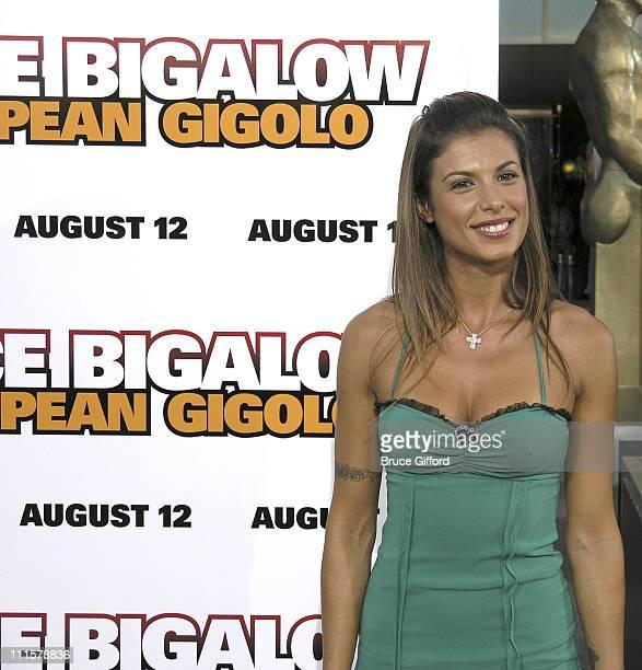 Elisabetta Canalis during 'Deuce Bigalow European Gigolo' Las Vegas Premiere at Palms Casino Resort in Las Vegas Nevada United States
