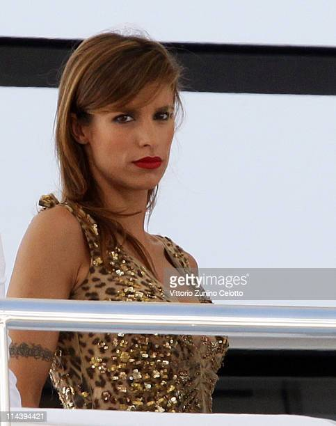 Elisabetta Canalis is seen during the 64th Annual Cannes Film Festival on May 19 2011 in Cannes France
