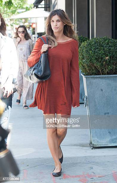 Elisabetta Canalis is seen in Los Angeles on May 04 2015 in Los Angeles California