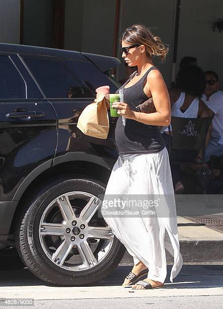 Elisabetta Canalis is seen on August 03 2015 in Los Angeles California