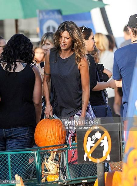 Elisabetta Canalis is seen on October 12 2014 in Los Angeles California