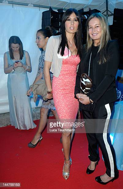 Elisabetta Gregoraci and Eva Cavalli attend Cannes Cocktail Evening hosted by Eva Longoria and Denise Rich and produced by Total Management and MandA...