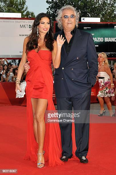 Elisabetta Gregoraci and Flavio Briatore attend the Opening Ceremony and Baaria Premiere at the Sala Grande during the 66th Venice International Film...