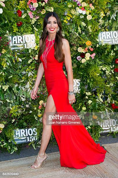Elisabetta Gregoraci attends Larios 150th Anniversary Party at Casa Velazquez on June 23 2016 in Madrid Spain